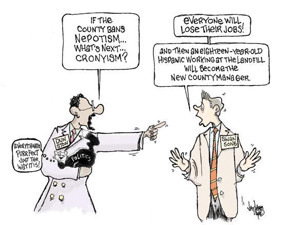 Editorial Cartoon: Family crisis