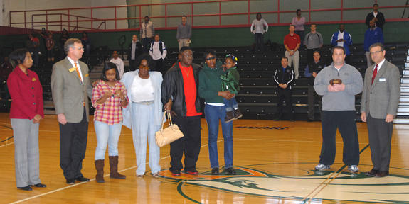 Dunn honored by region