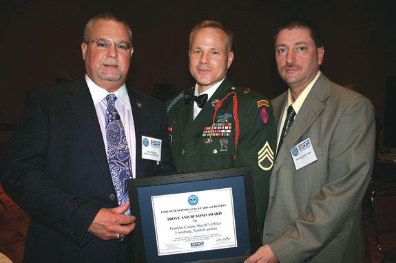 Sheriff's Department receives Patriot Award