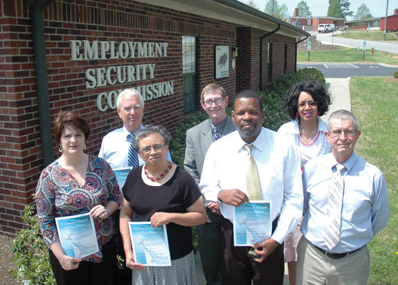 Employment Security Commission receives Governor's Award