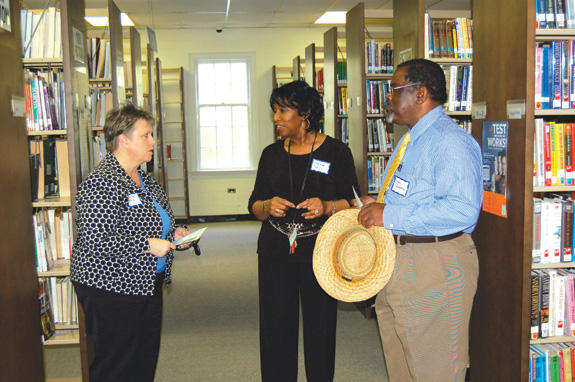 Library friends and supporters trying to book new facility funding