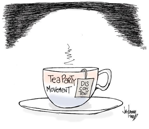 Editorial Cartoon: Hot Toddy