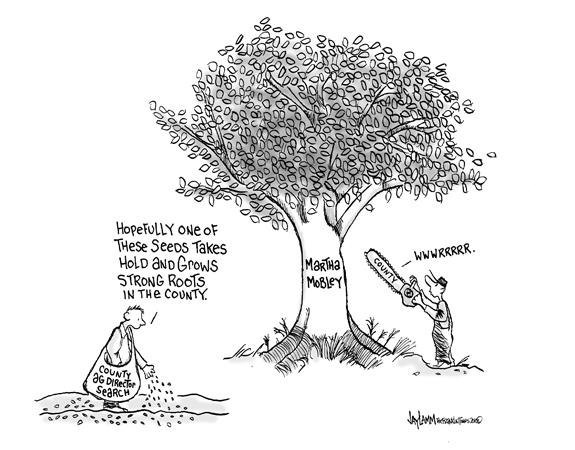 Editorial Cartoon: Political Harvest