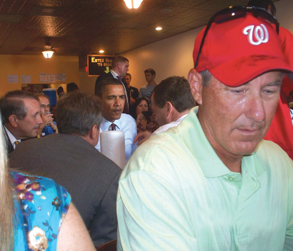 """Franklin County residents at Obama's """"Burger Summit"""""""