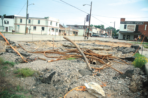 Franklinton park construction uncovers tanks, town commits $10,000 for removal