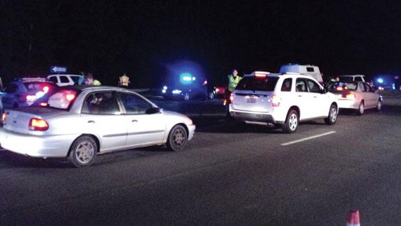 Checkpoint nets drug arrest
