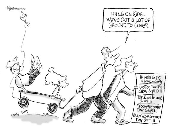 Editorial Cartoon: Wagon Ho