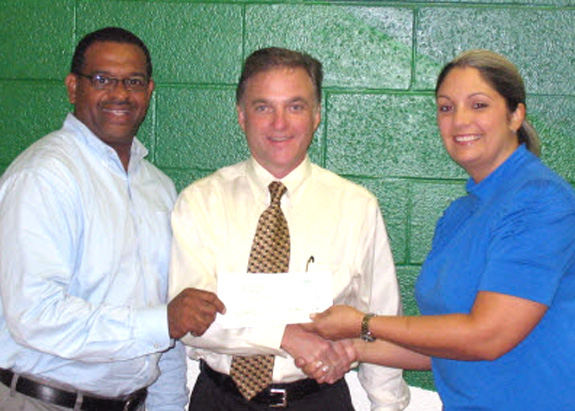 Boys & Girls Club receives donation from CenturyLink