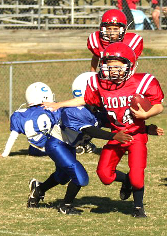 Franklinton's Lions tangle with Clayton
