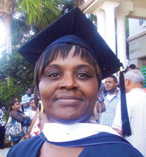 Reese earns Master's degree