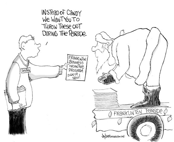 Editorial Cartoon: Santa Maybe