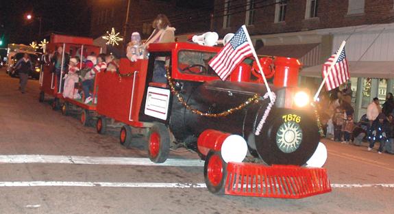Franklinton Christmas Parade Pics, 1