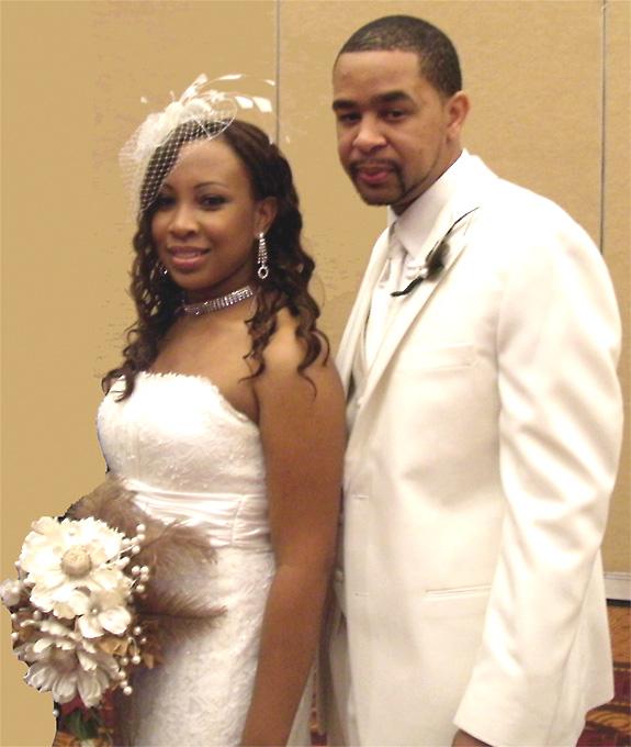 Leonard, Hockaday wed