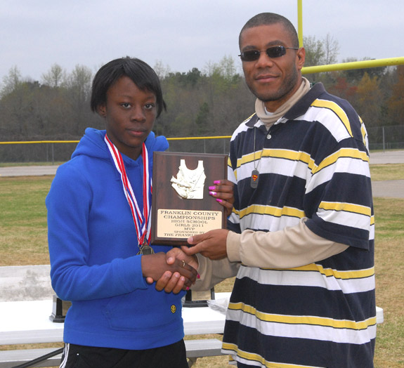FRANKLIN COUNTY TRACK AND FIELD MEET MVPS, 1