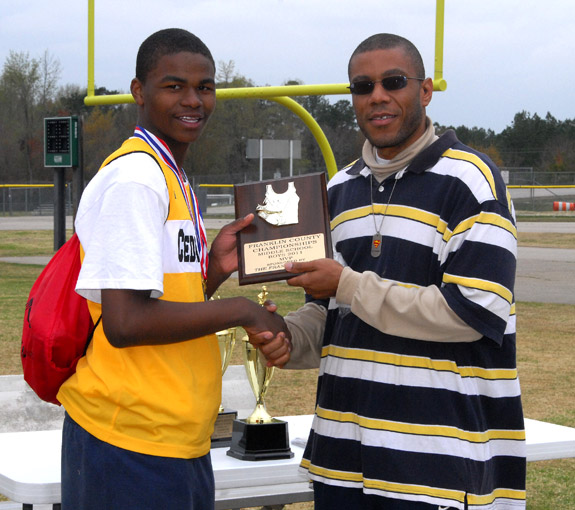 FRANKLIN COUNTY TRACK AND FIELD MEET MVPS, 2