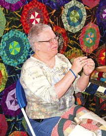 Arts Council members exhibit art during Whistlers Convention