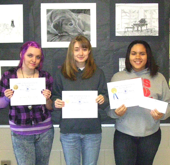 Red Rams recognized in state art competition