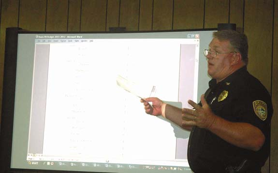 Bunn looks at cutting police department expense