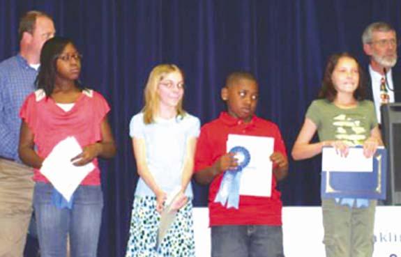 Poster winners honored at program