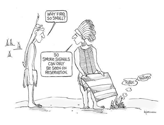 Editorial Cartoon: Smoke Gets In Your Eyes