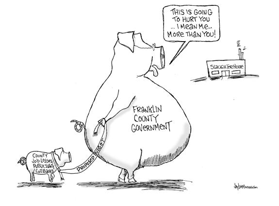 Editorial Cartoon: Hogwash