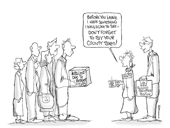 Editorial Cartoon: Relative or Friend?