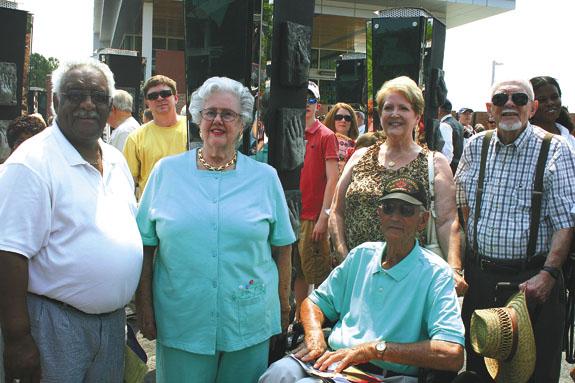 Locals honored at NC Veterans Park dedication
