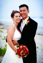 Ayscue and Tran joined in marriage