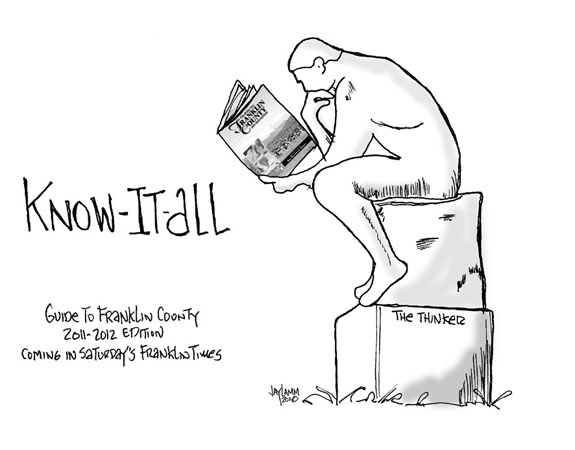 Editorial Cartoon: Thinker