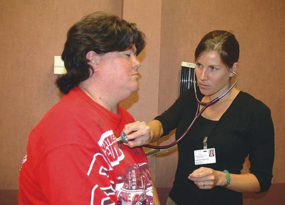 Clinic takes part in stop smoking campaign