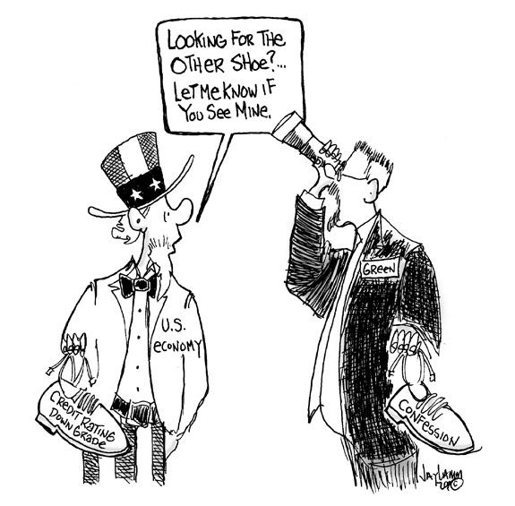 Editorial Cartoon: Slowly I Turn