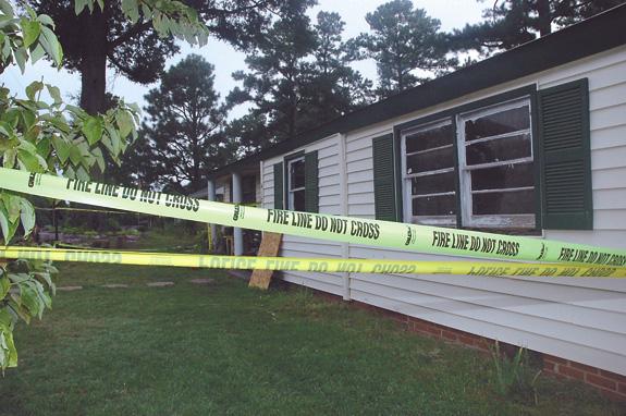 Lightning blamed for Franklinton house fire