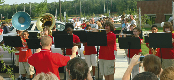 More photos from the new Franklinton High School Dedication Ceremony, 1