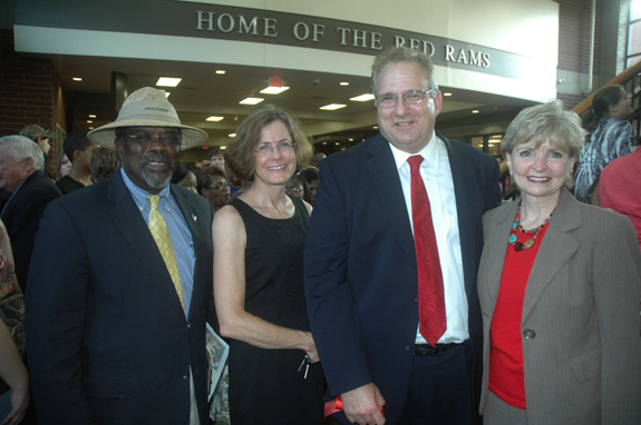 More photos from the new Franklinton High School Dedication Ceremony, 2