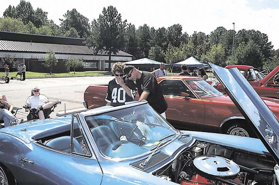 Weekend events include High Flight and Youngsville Fall Festival