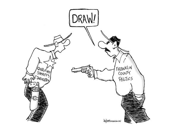 Editorial Cartoon: I'm Your Huckleberry