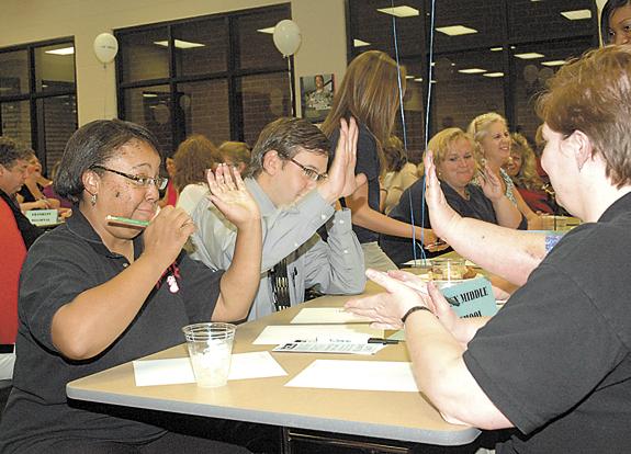 Louisburg Elementary wins United Way Spelling Bee
