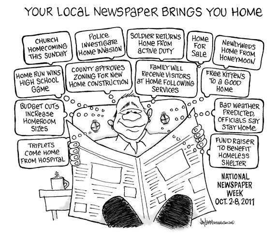 Editorial Cartoon: Local Yokel