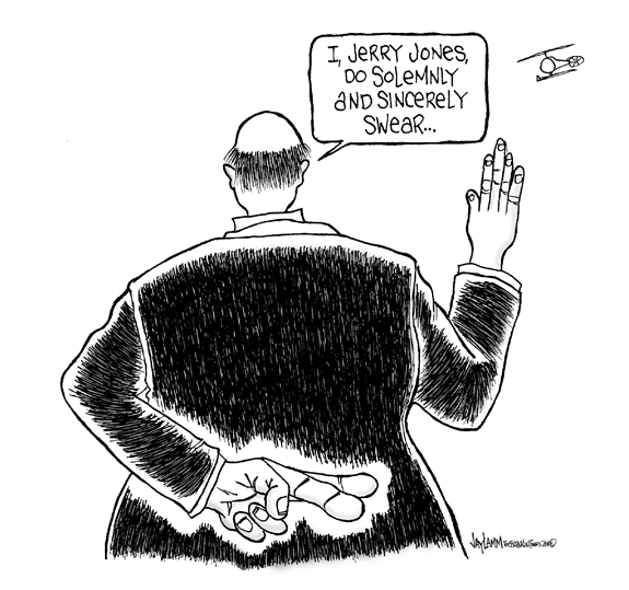 Editorial Cartoon: A Grave Mistake