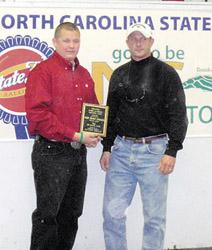 Speed Achievement Scholarship presented