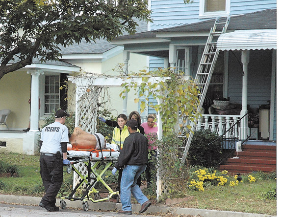 Shooting victim makes investigation difficult for Louisburg police