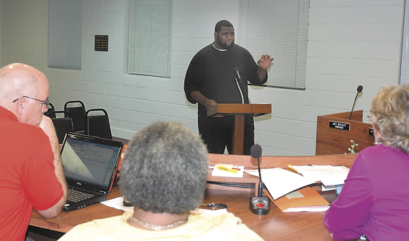 Louisburg man looking for help to build up community