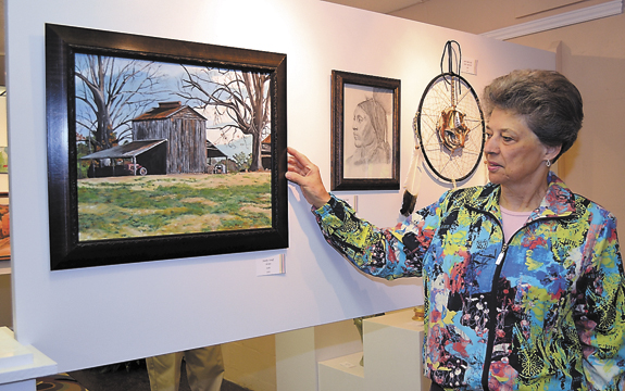 Arts Council's art show showcases local talent (Pt 1)