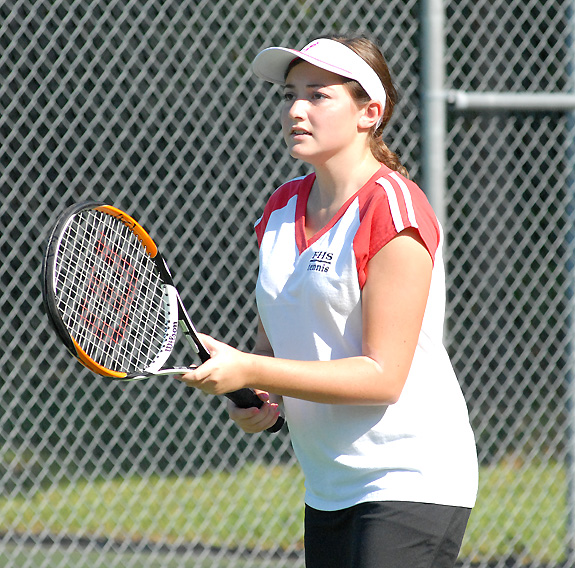 Franklin players on tennis squad