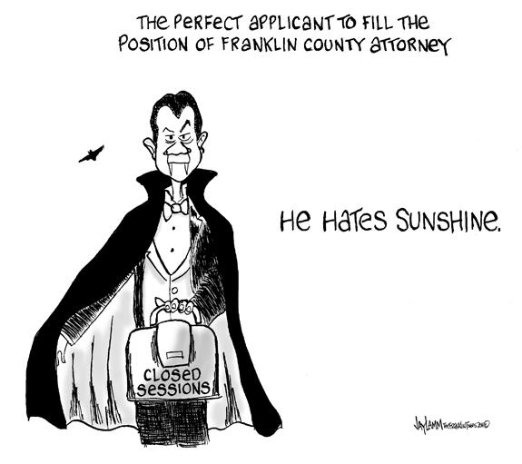Editorial Cartoon: Bat-ton's Succesor