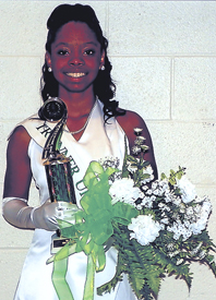 Carter is 1st runner-up in Miss Nu Epsilon Cotillion