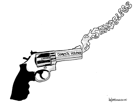Editorial Cartoon: Armed and Dangerous
