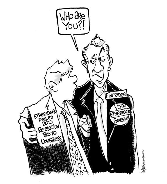 Editorial Cartoon: Also Ran