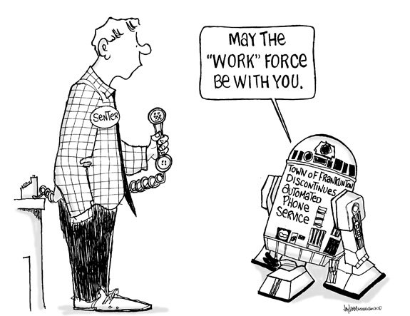 Editorial Cartoon: Back to the Future
