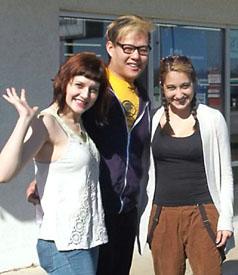 """American Idiot"" cast members visit school"